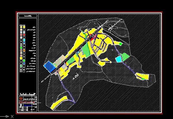 نقشه های روستای احمدآباد (از توابع مسجد سلیمان)