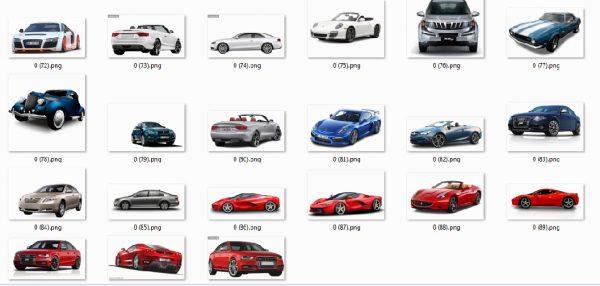 انواع اتومبیل برای استفاده در رندرها و پست پروداکشن