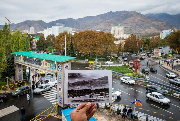 پروژه تحلیل فضای شهری میدان تجریش تهران
