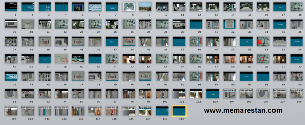 هتل مرمر رامسر-مرمت-پروژه