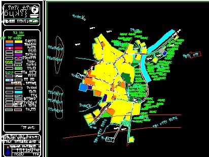 مطالعات روستای جانقور.نقشه روستای جانقور