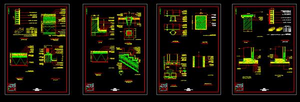 دانلود پروژه کامل طراحی فنی 3طبقه مسکونی