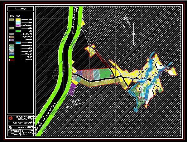 نقشه های موجود و پیشنهادی روستای طاهرآباد