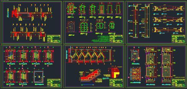 دانلود نقشه های اجرایی مسکن مهر-نقشه سازه و معماری مسکن مهر