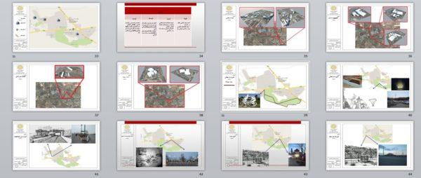 پروژه کامل تحلیل فضای شهری
